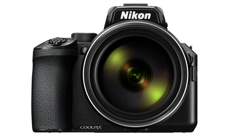 Nikon Coolpix P950 83x Optical Zoom Bridge Camera - Black