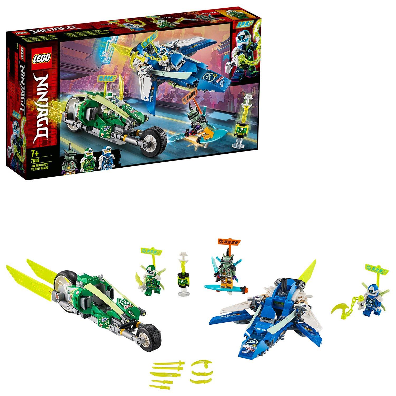 LEGO Ninjago Jay and Lloyd's Velocity Racers Set - 71709
