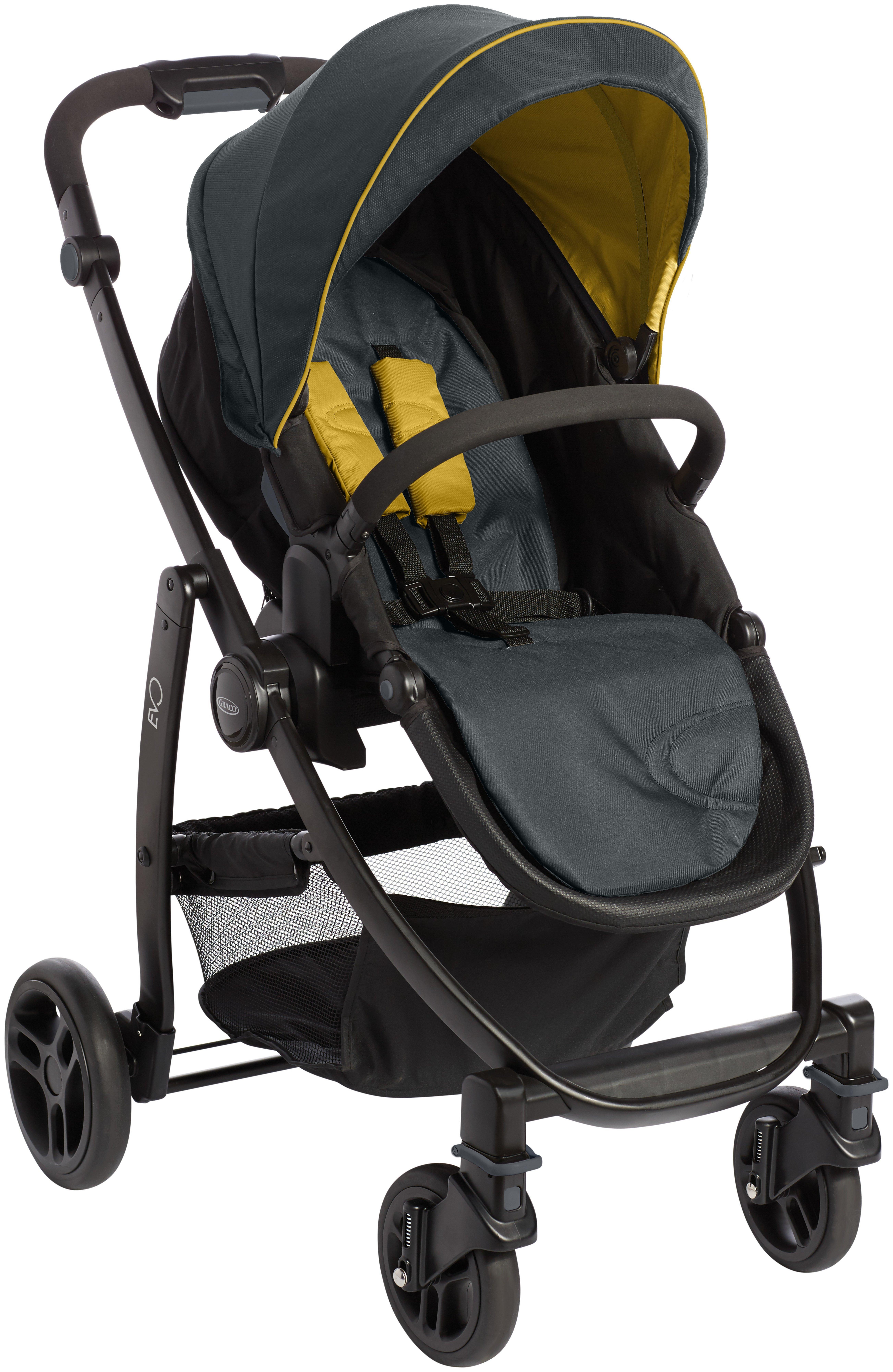 Image of Graco Evo Yellow TS Pushchair.