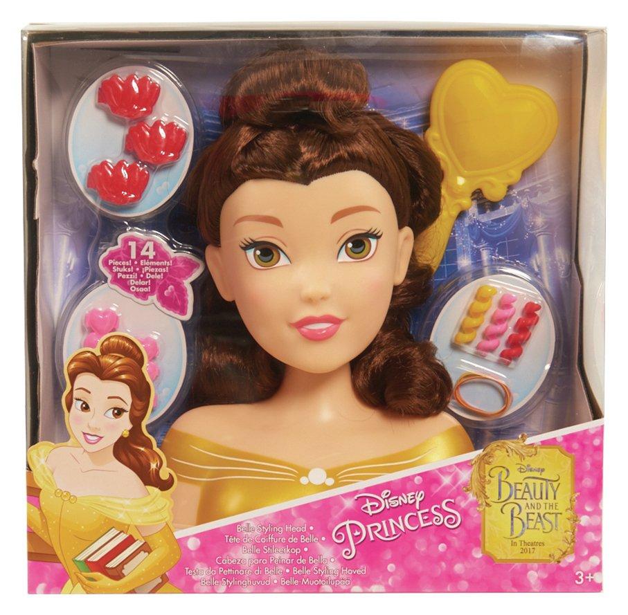 Image of Disney Princess Belle Styling Head.