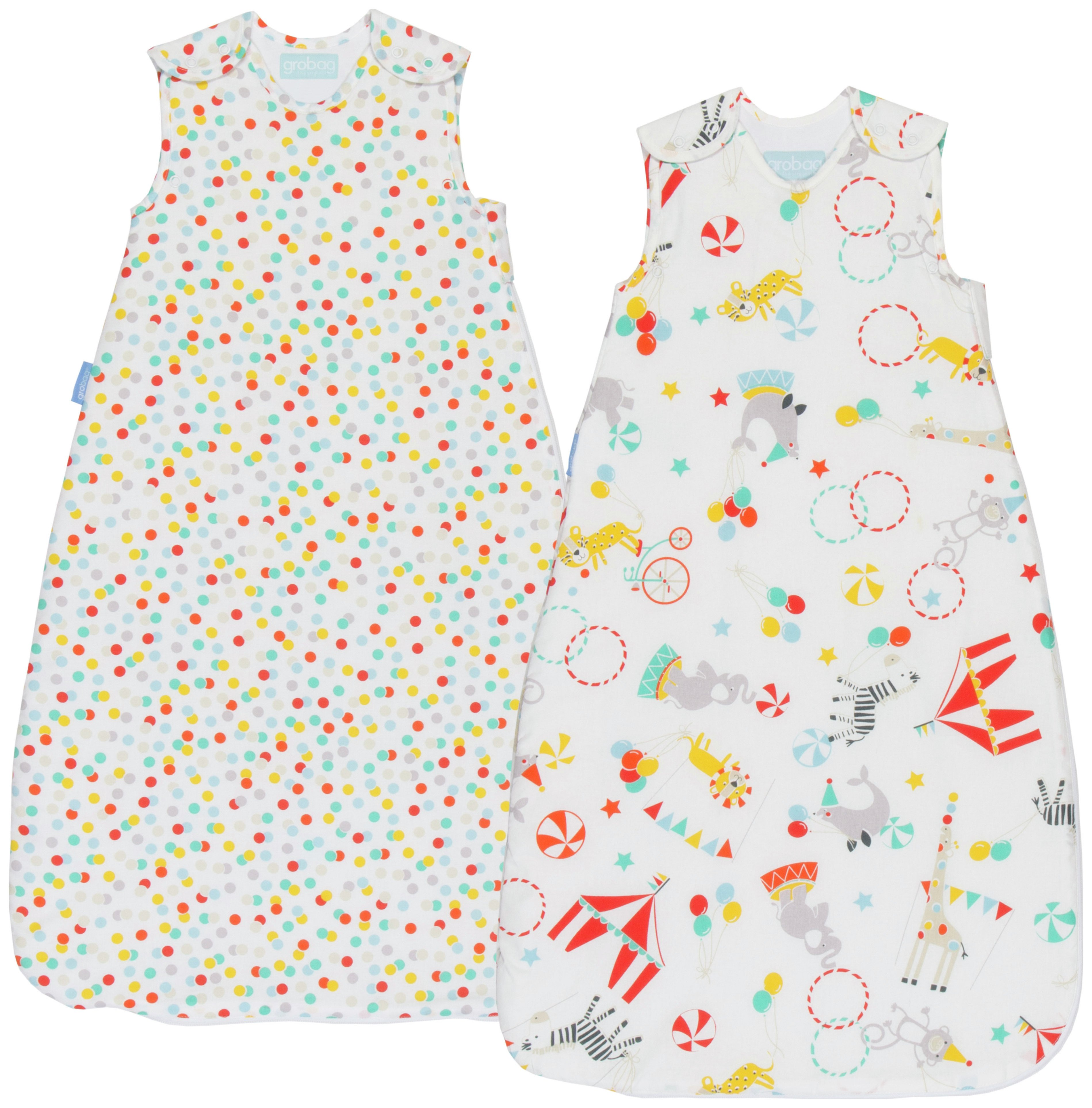 The Gro Company Roll Up Wash & Wear 0-6 Months Grobag 2 Pack