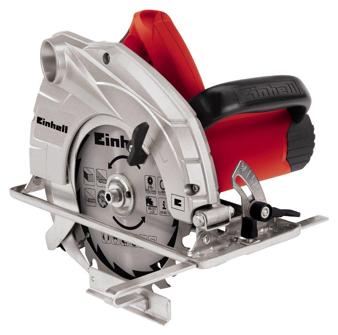 Image of Einhell 1400W 190mm (7.5 inch) Circular Saw.