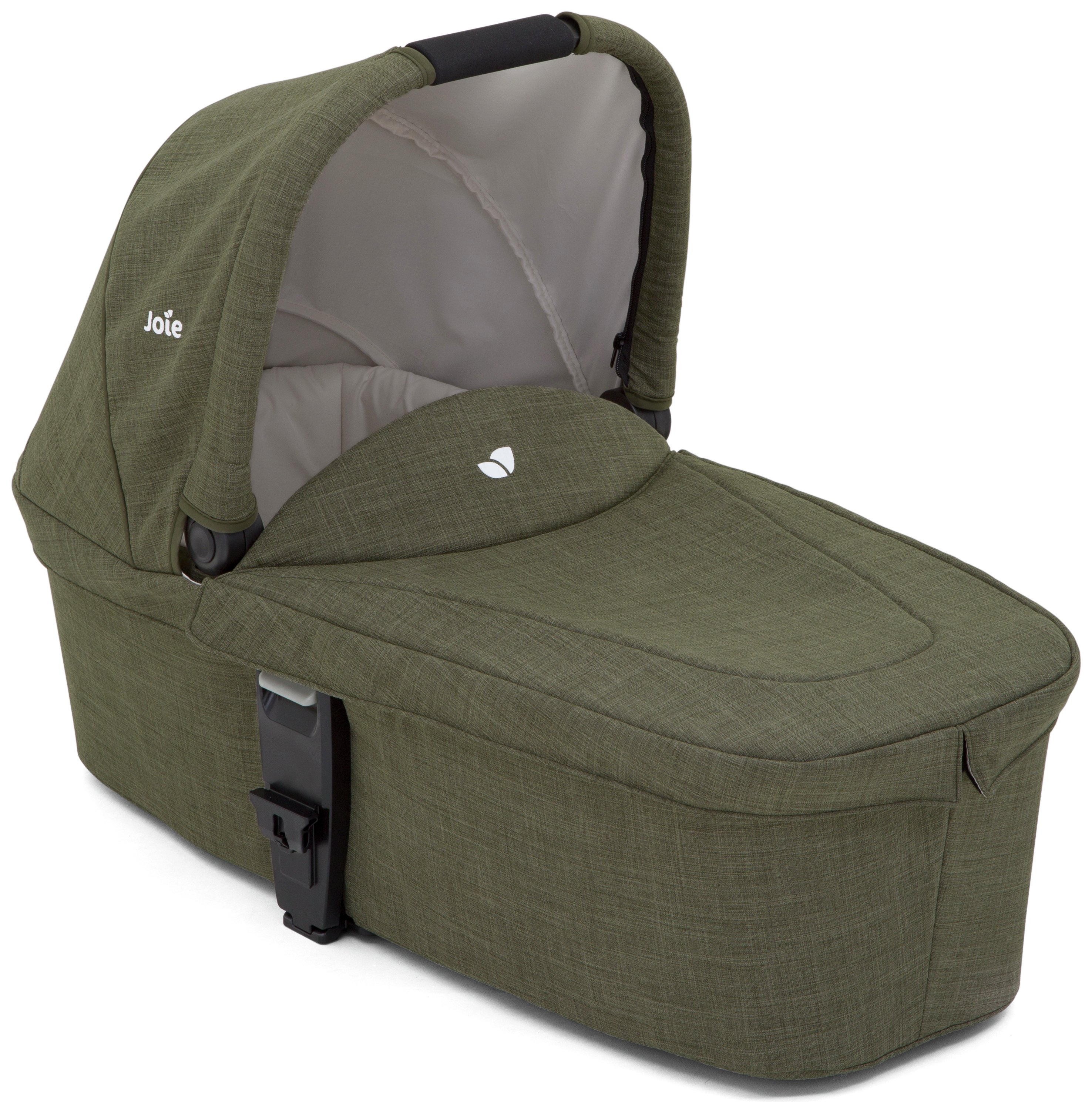 Image of Joie Thyme Chrome DLX Carry Cot.
