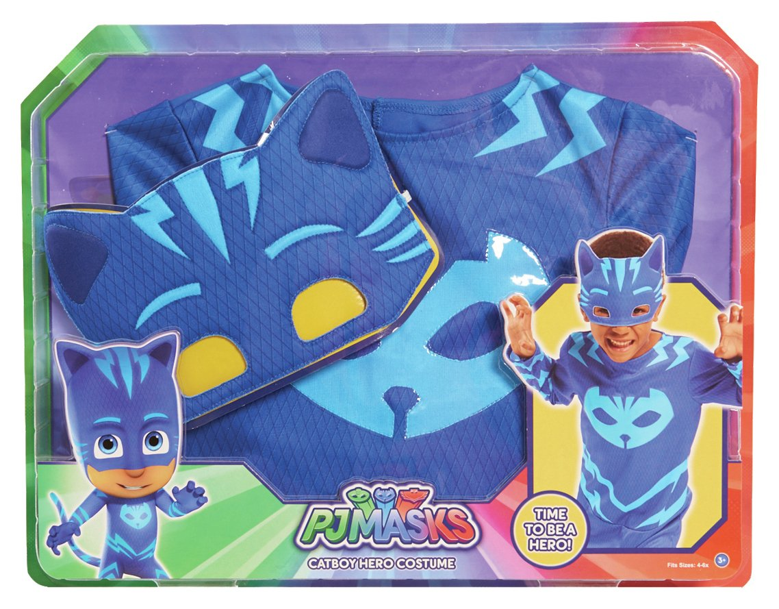 PJ Masks Cat Boy Dress Up Set. - Blue