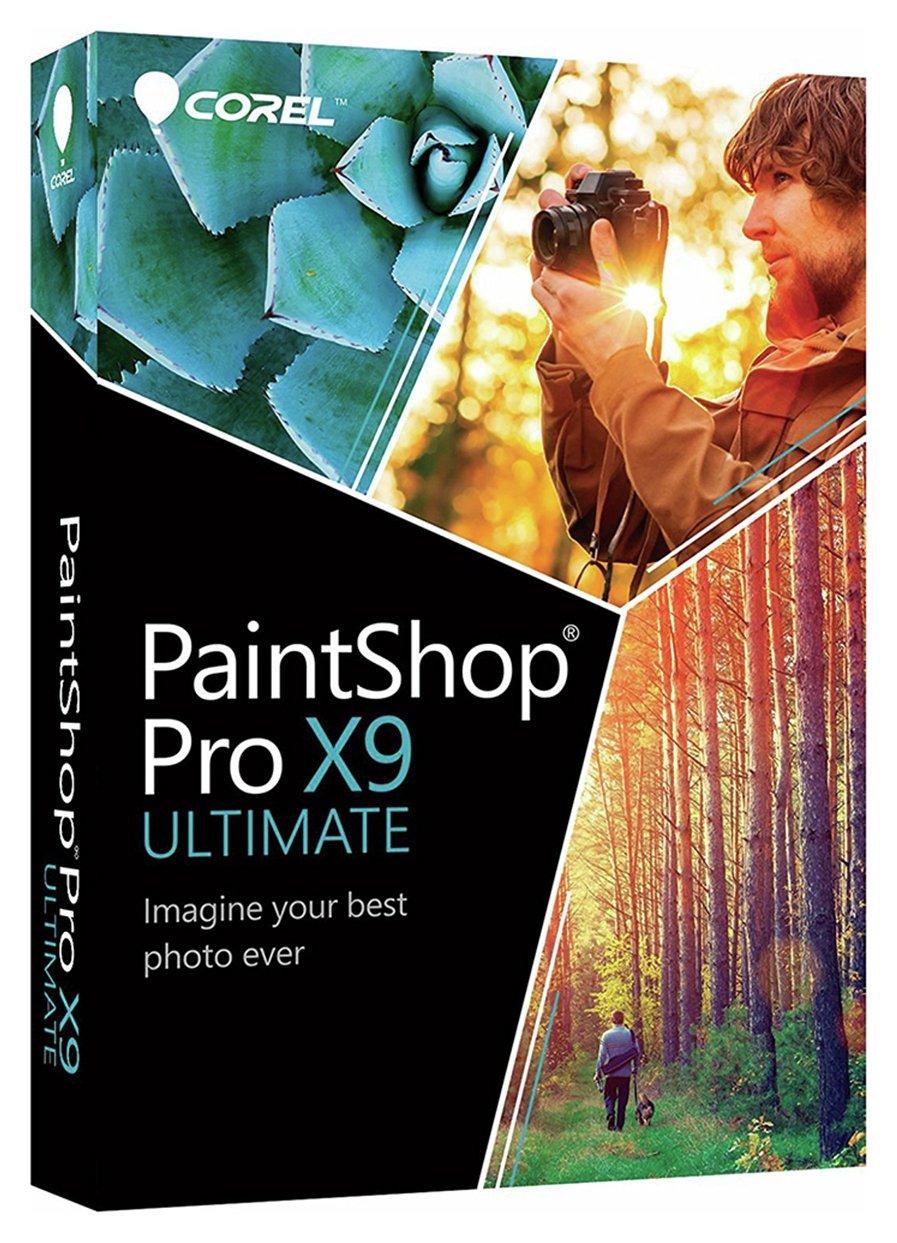 Image of PaintShop Pro X9 Ultimate Photo Editing PC Software.