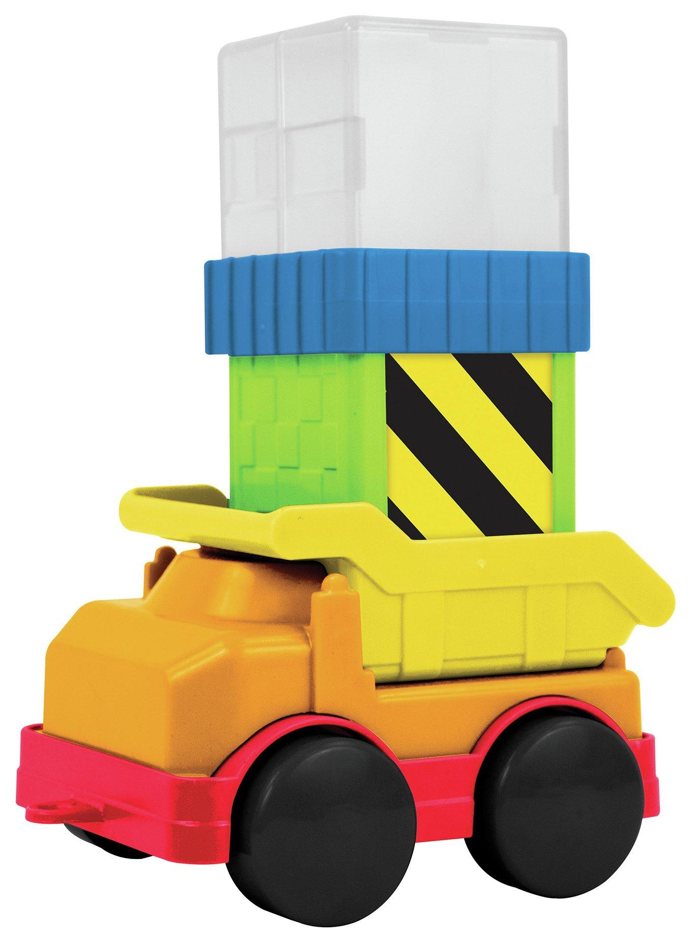 Sassy Silly Sensory Blocks Collection - Vehicle Set.