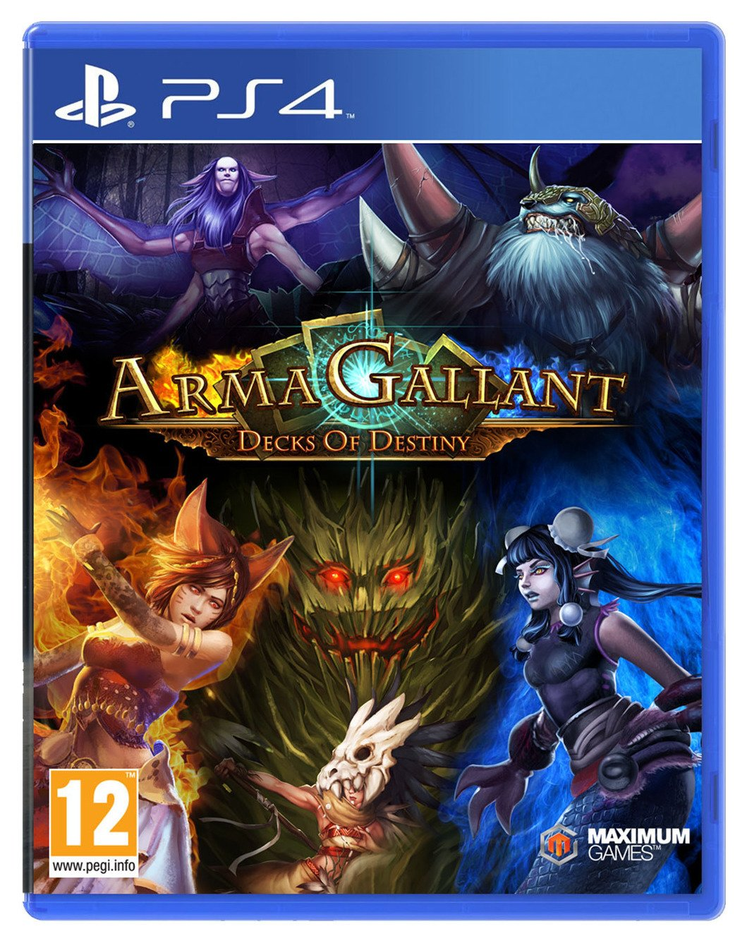 Image of ArmaGallant: Decks of Destiny PS4 Game.