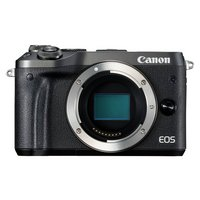 Canon EOS M6 Compact System Camera Body Only - Black