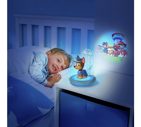buy paw patrol magic night light - torch and projectorgoglow