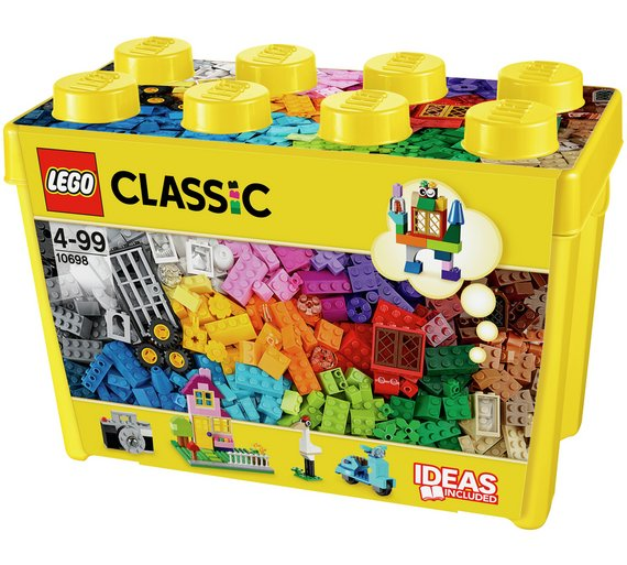 Buy LEGO Classic Large Creative Brick Box - 10698 at Argos
