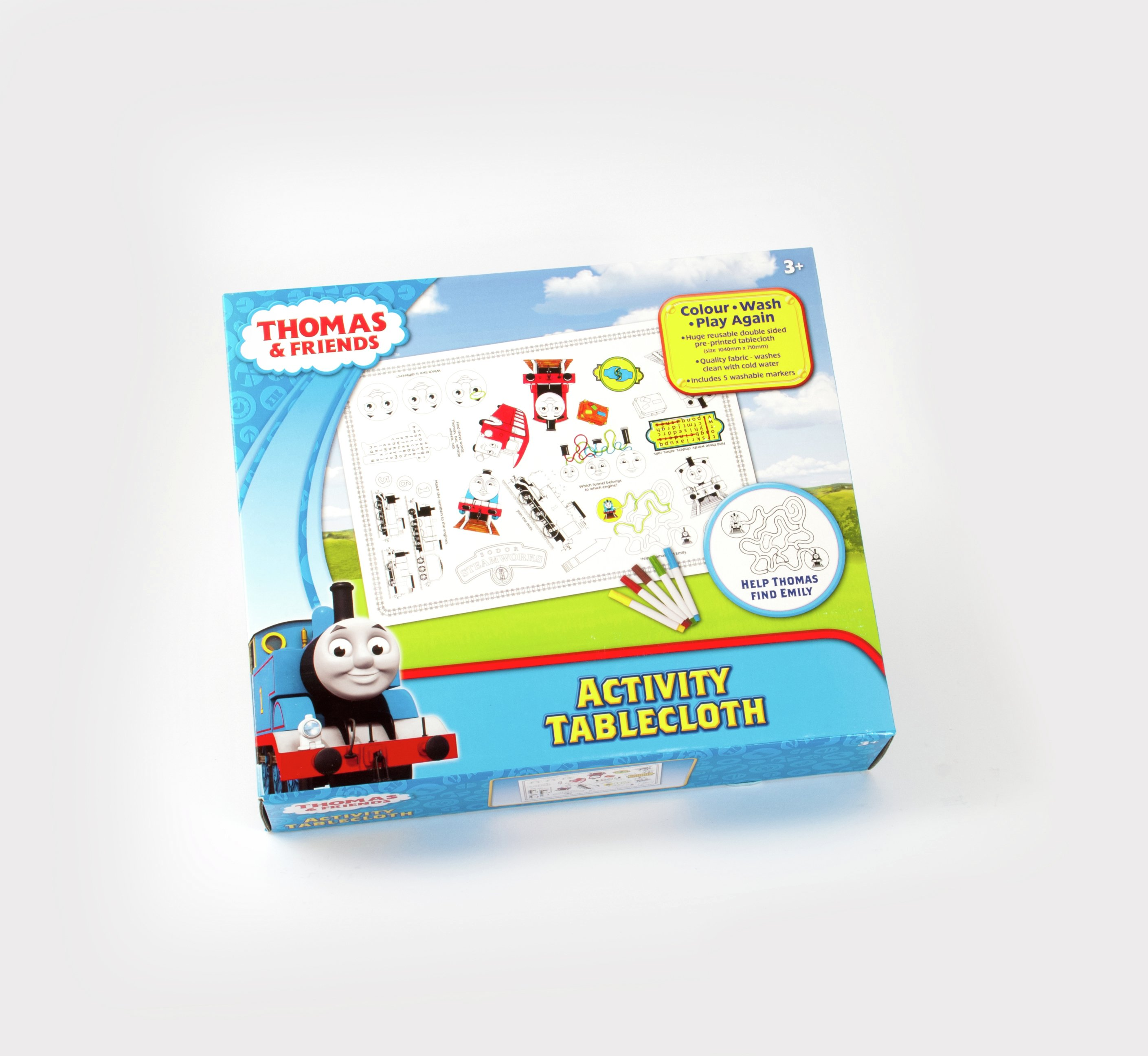 Thomas & Friends Tablecloth Game.