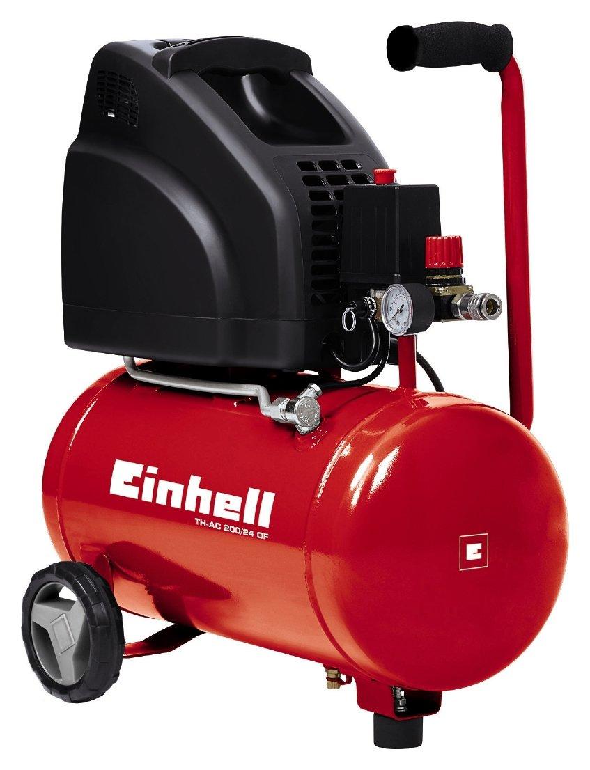 Einhell 24L/8Bar Oil-Free Compressor.