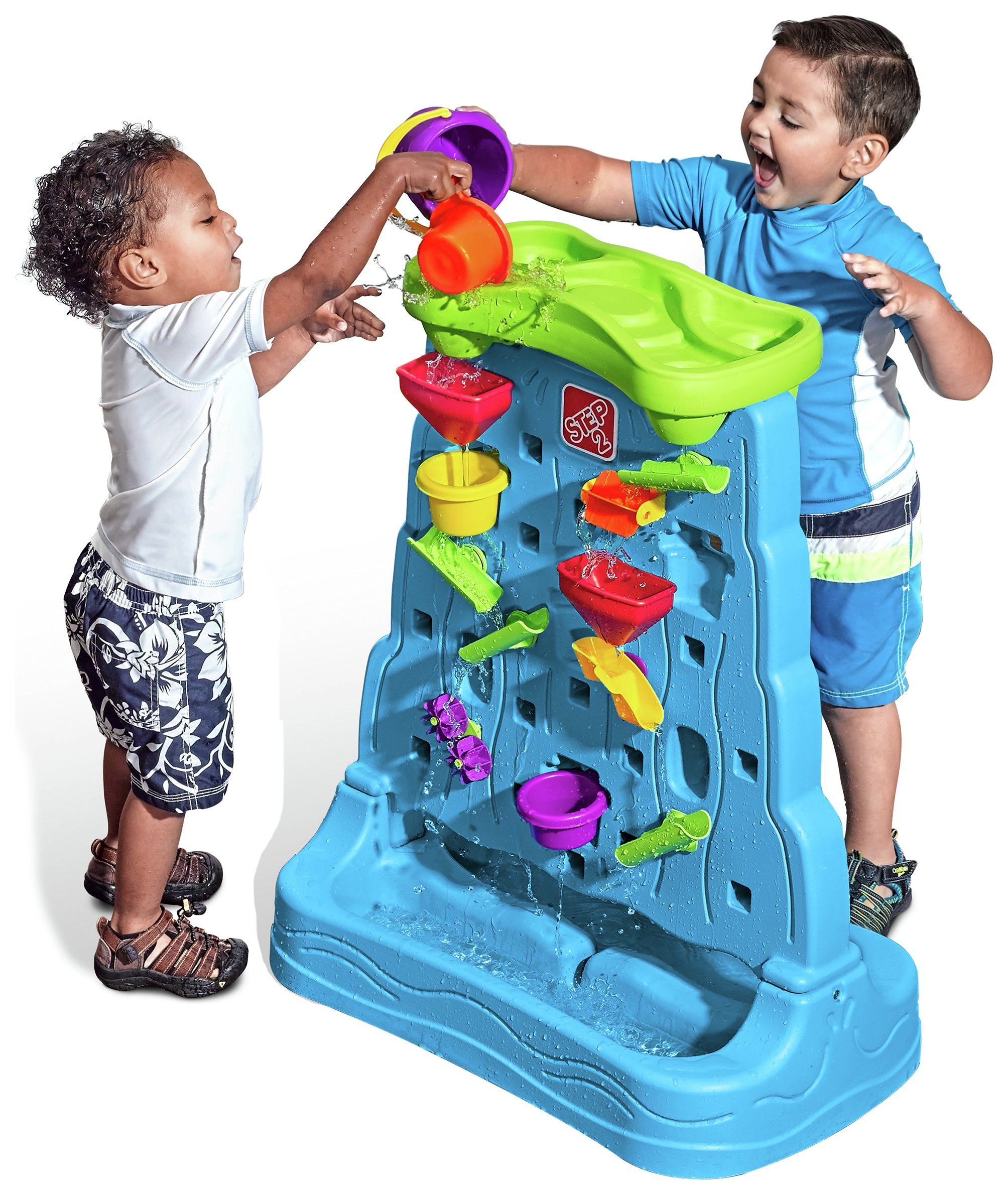 Step2 Waterfall Water Table Discovery Wall.