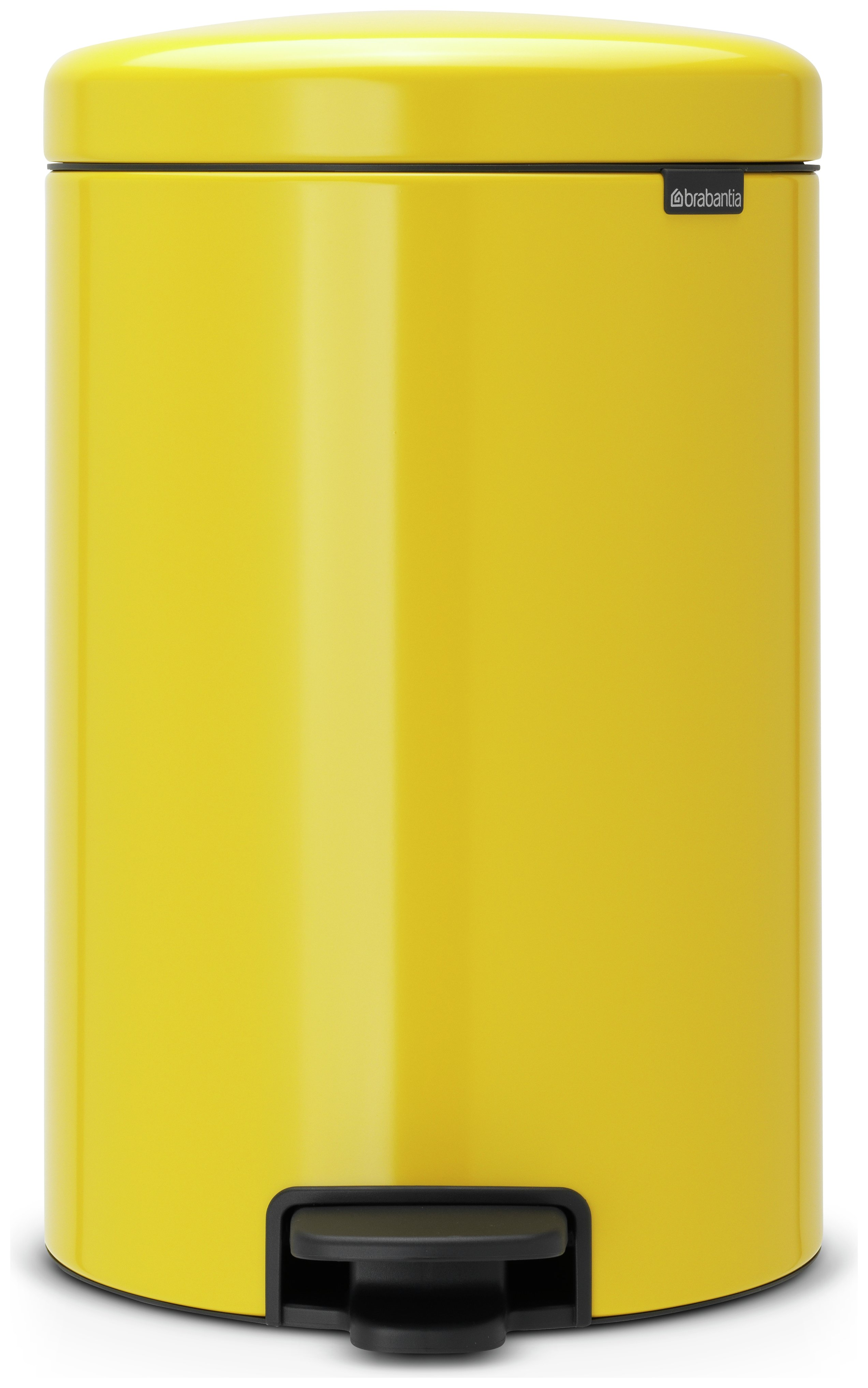 Brabantia newIcon 20 Litre Pedal Bin - Yellow.