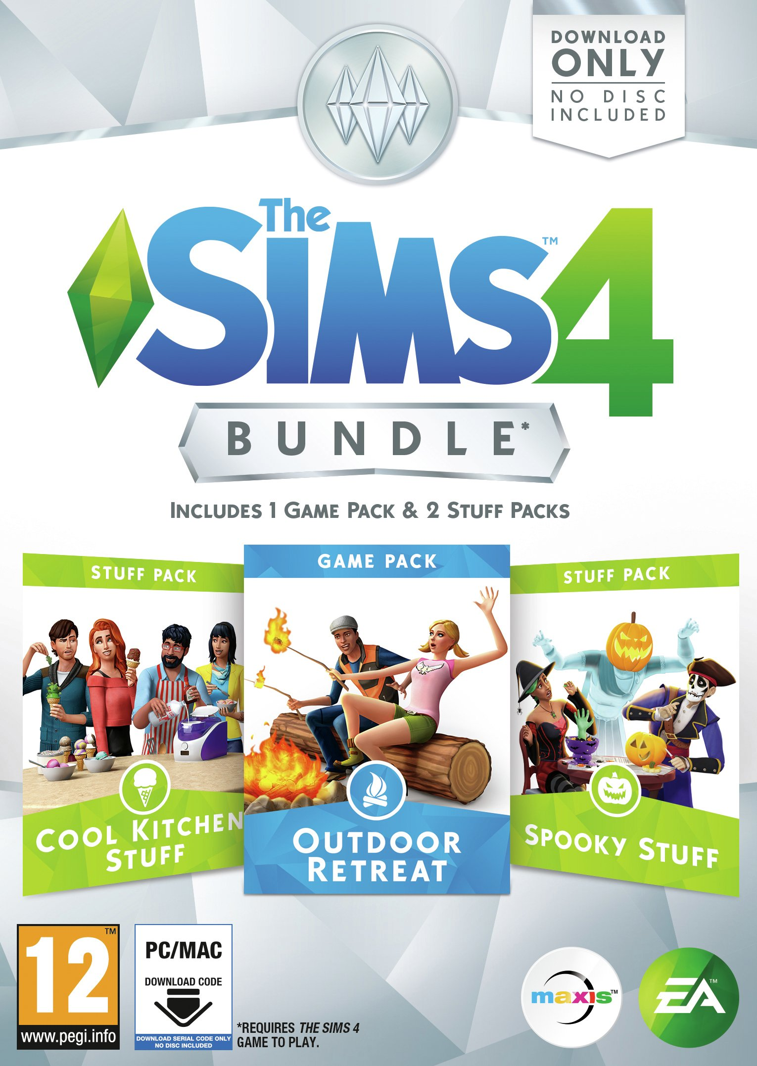 The Sims 4 Outdoor Retreat Bundle Pack.