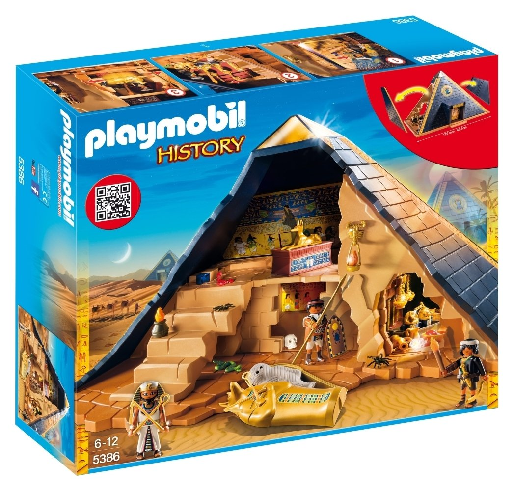 Playmobil 5386 History Pharoah's Pyramid.