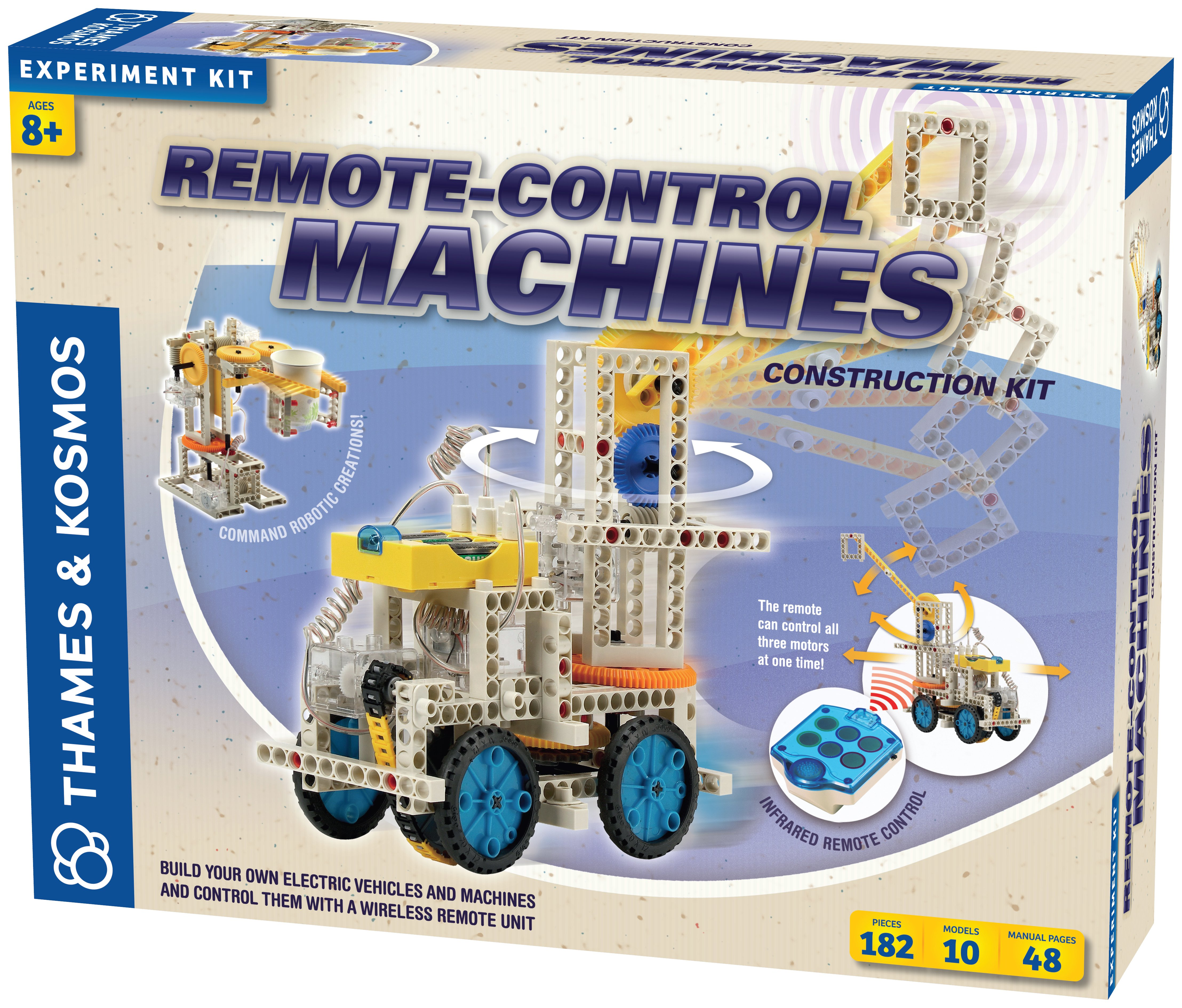 Thames And Kosmos Remote Control Machines Construction Kit.
