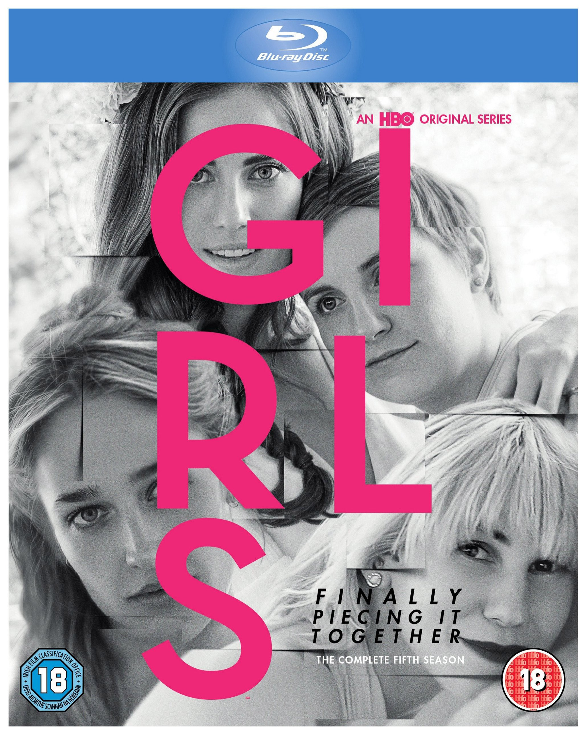 Girls Season 5 Blu-ray DVD.
