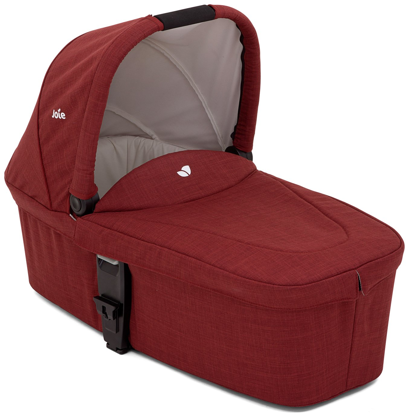 Image of Joie Cranberry Chrome DLX Carry Cot.