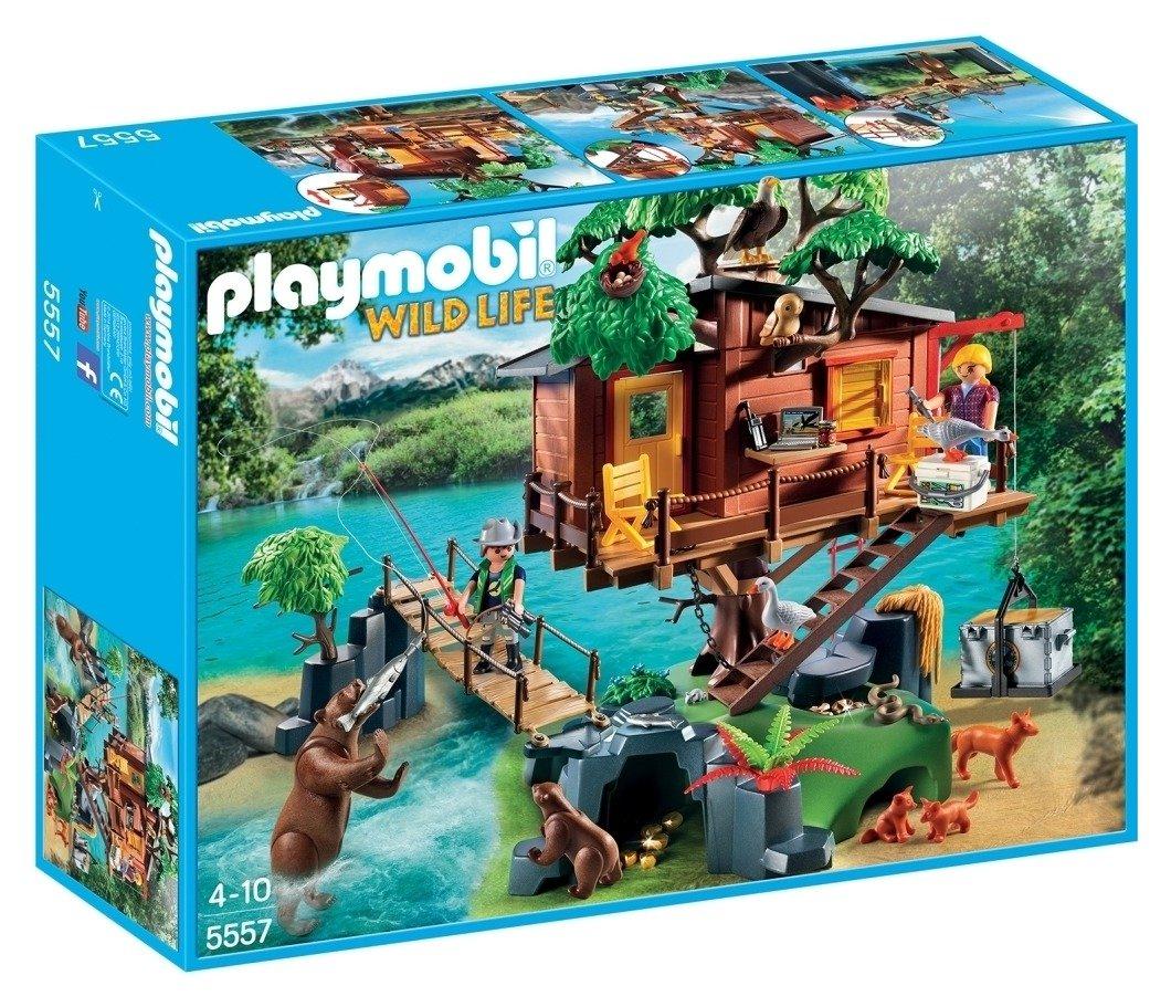 Playmobil 5557 Wild Life Adventure Tree House.