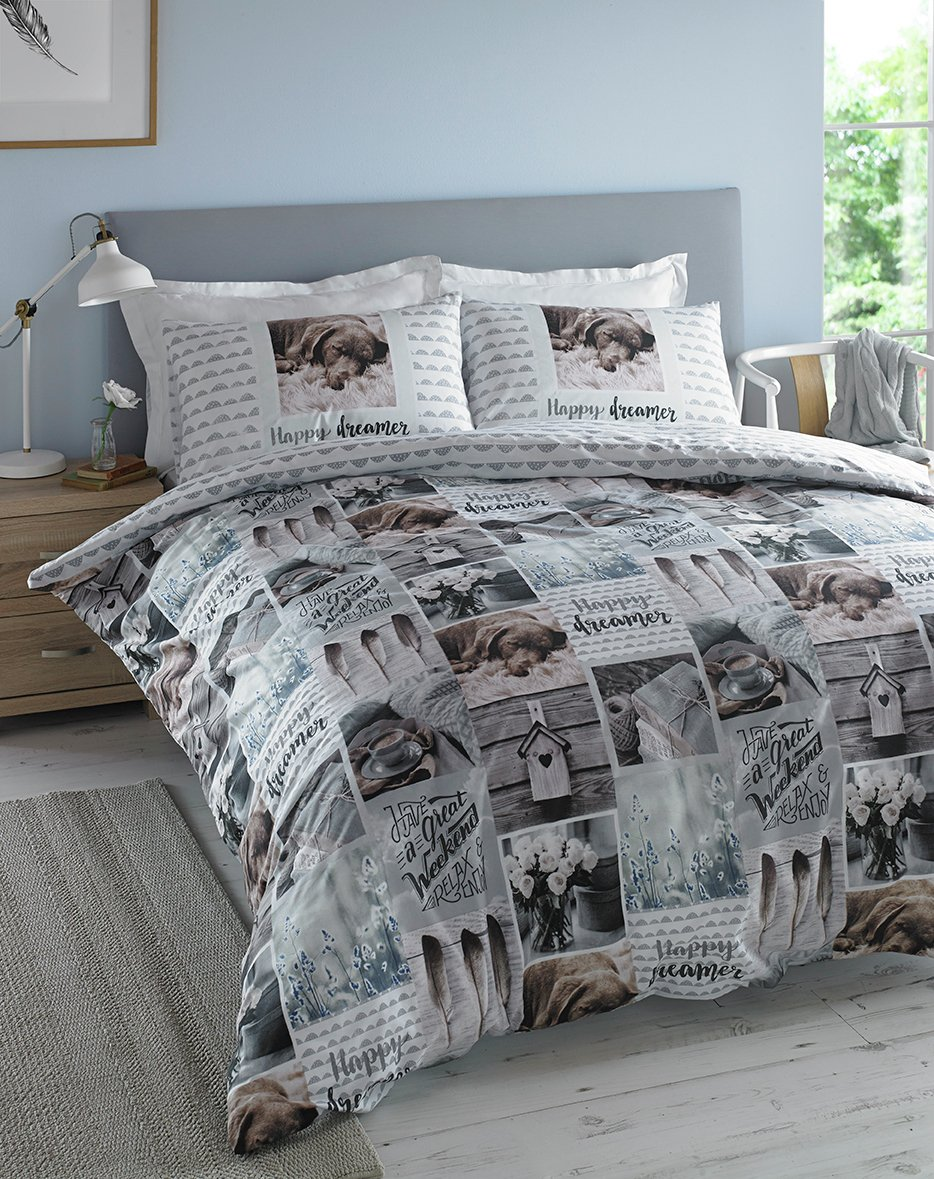 Image of Hashtag Happy Dreamer Bedding Set - Double.