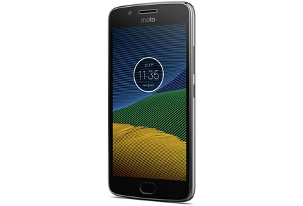 Sim Free Motorola Moto G5 Mobile Phone - Grey.