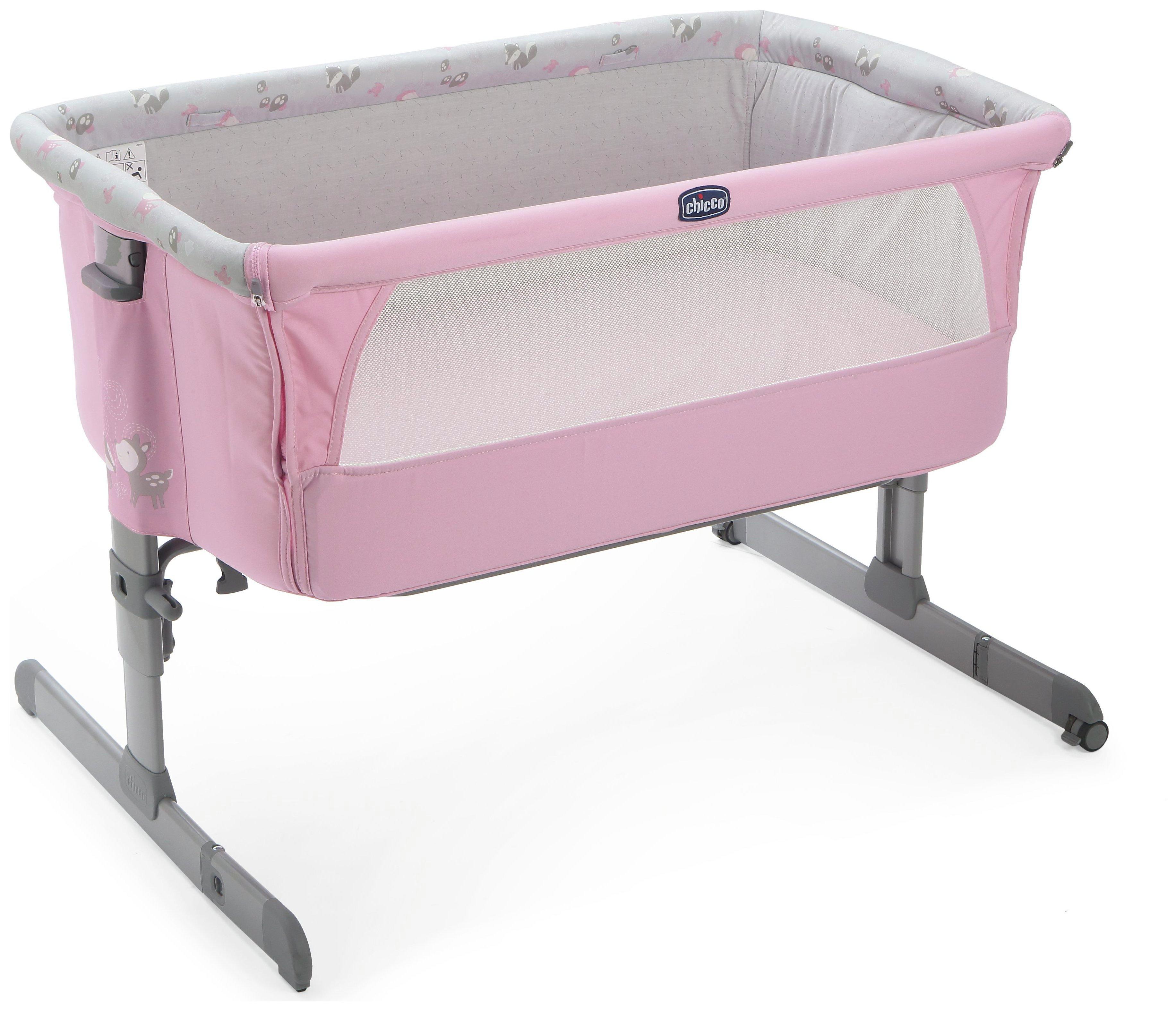 Image of Chicco Next 2 Me Crib - Princess