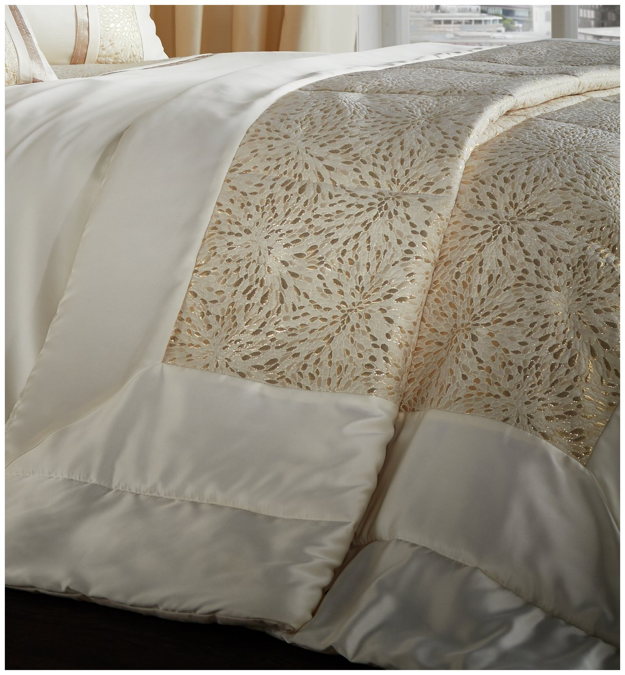 Catherine Lansfield Luxor Gold Bedding Set - Kingsize