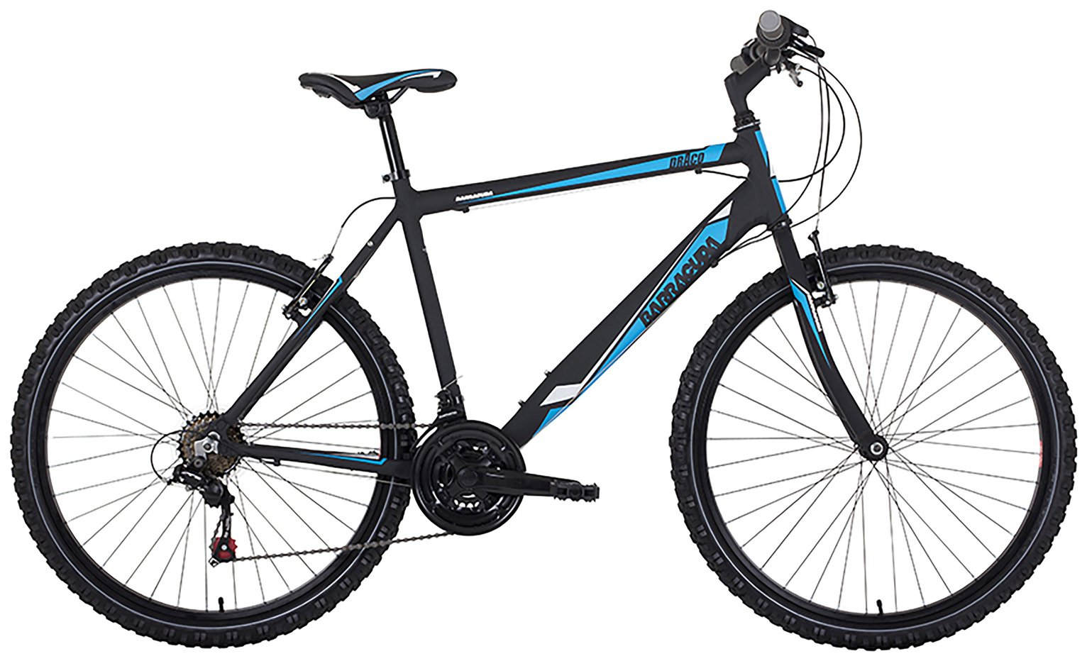 Image of Barracuda Draco 1 16 Inch Black & Blue Mountain Bike - Mens.