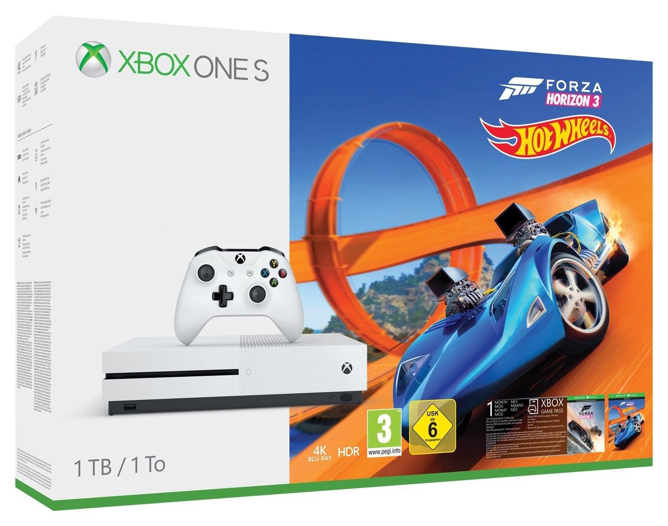 Xbox One S 1TB Console with Forza Horizon 3 Bundle