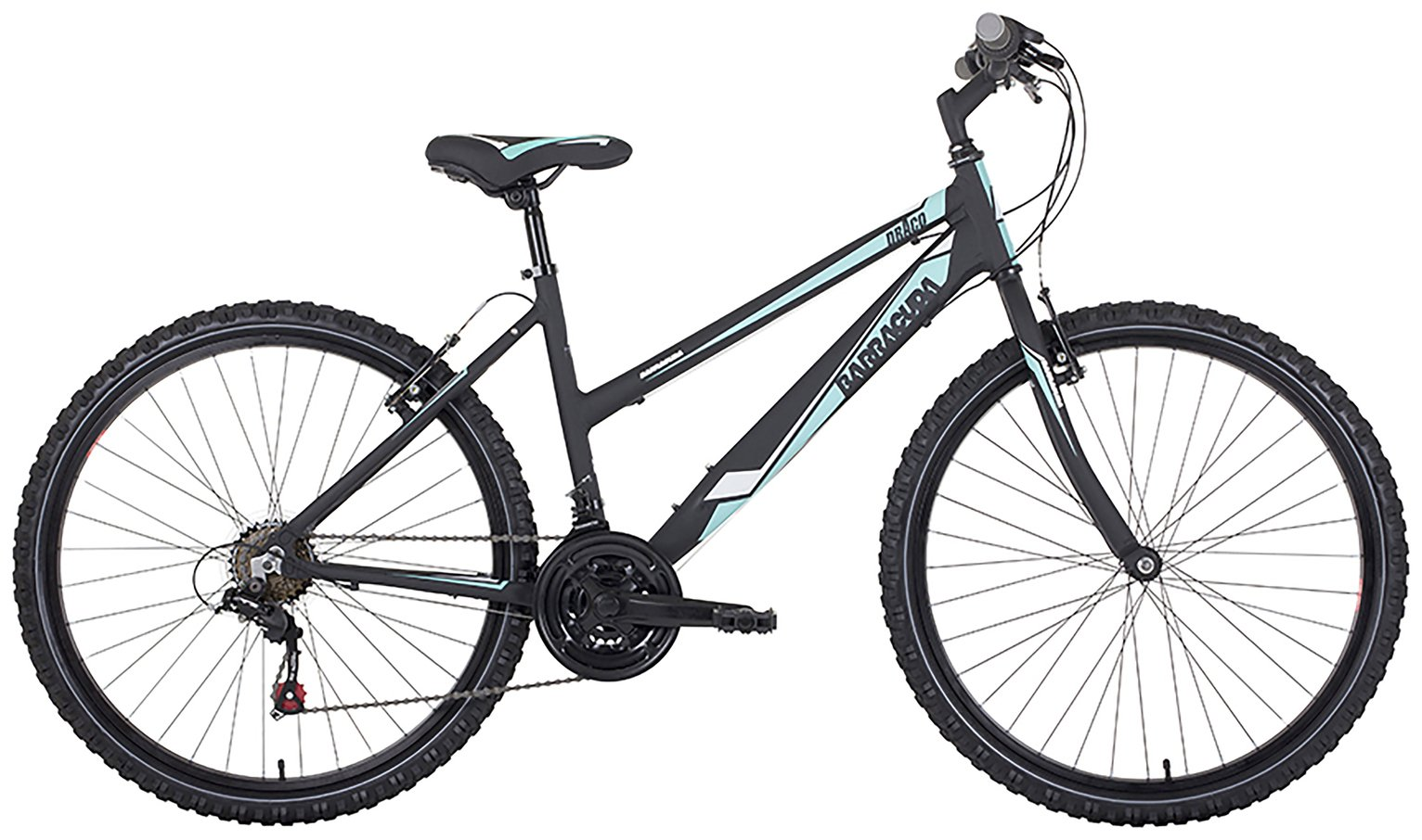 Image of Barracuda Draco 1 15 Inch Black Mountain Bike - Womens.