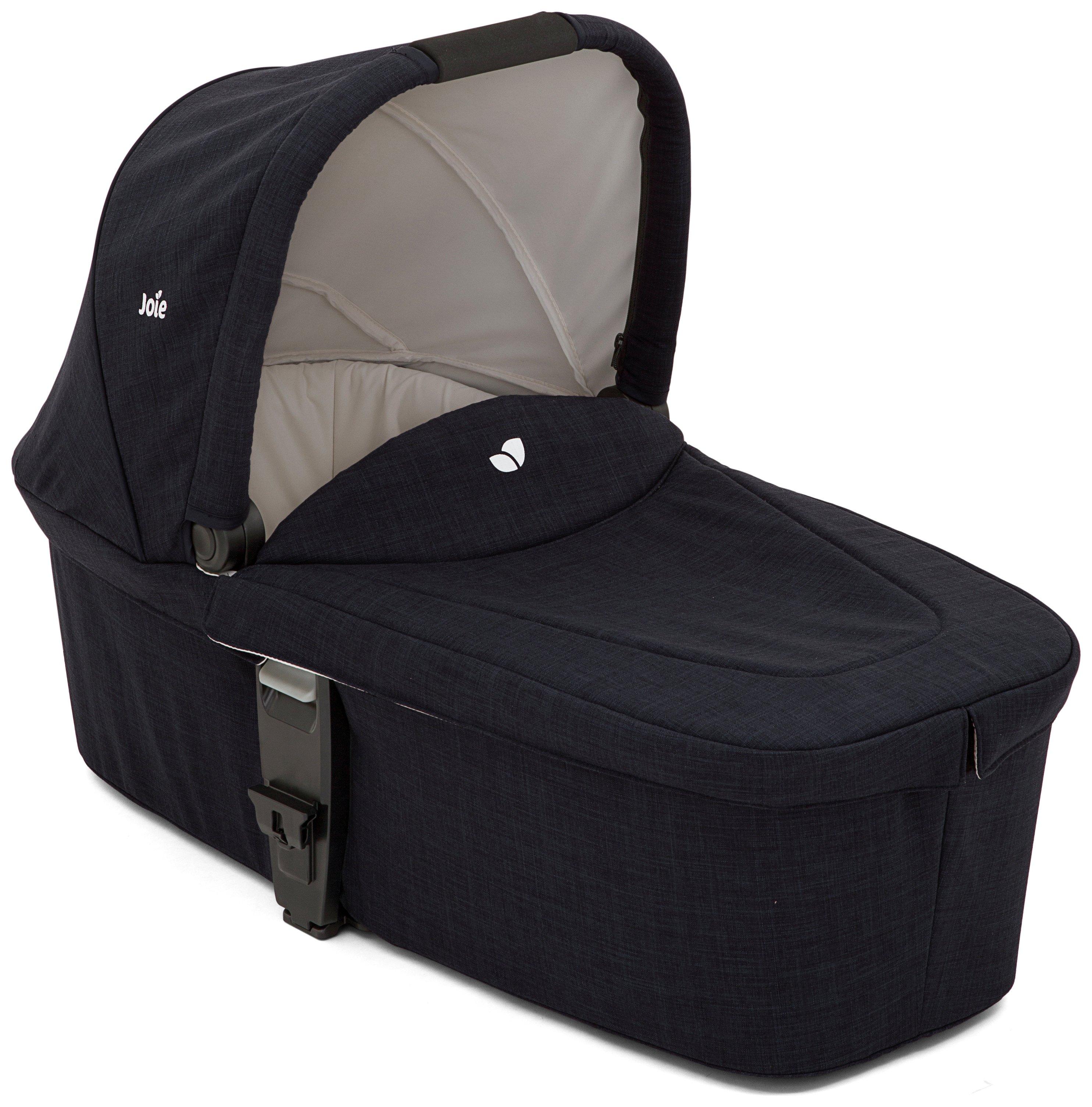 Joie Navy Blazer Chrome DLX Carry Cot