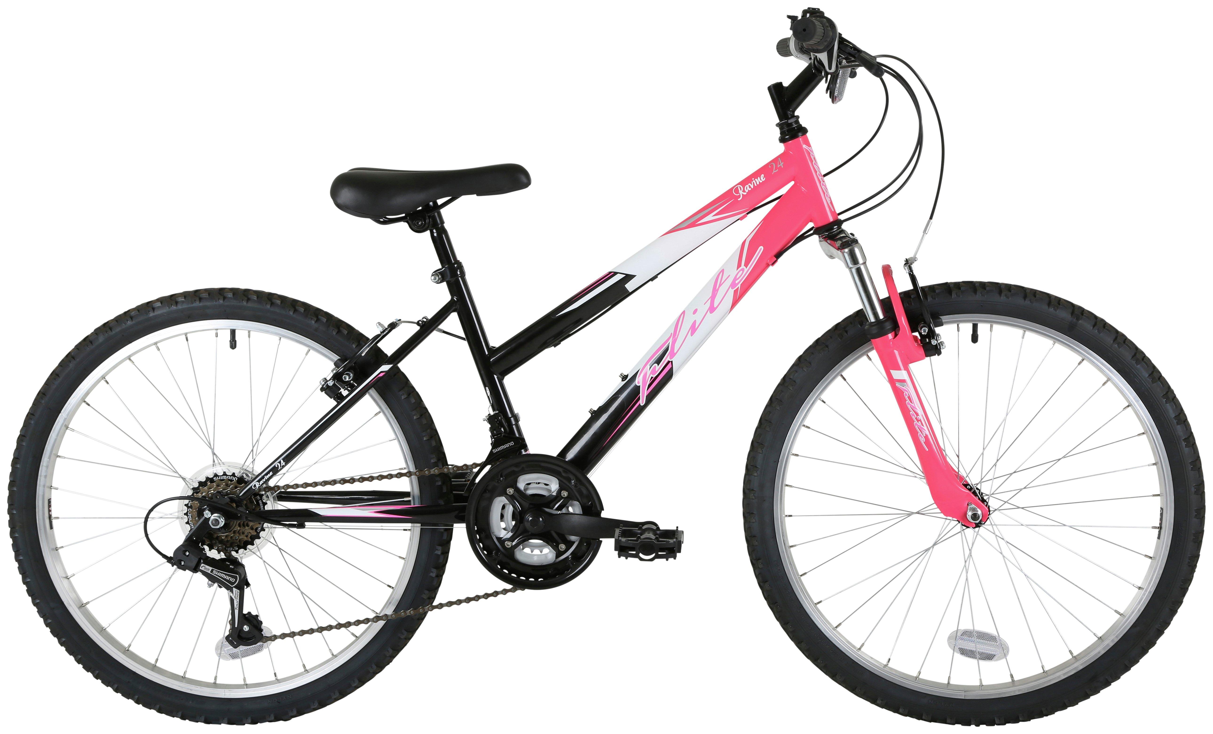 Image of Flite Ravine 14 Inch Mountain Bike - Girls.