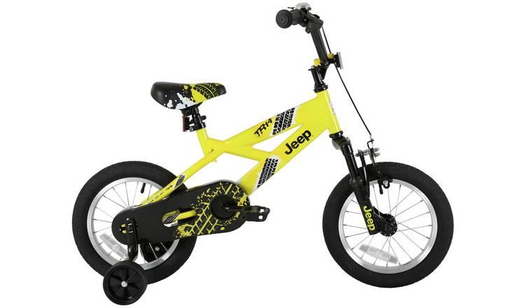 Buy Jeep Yellow 14 Inch BMX | Kids bikes | Argos