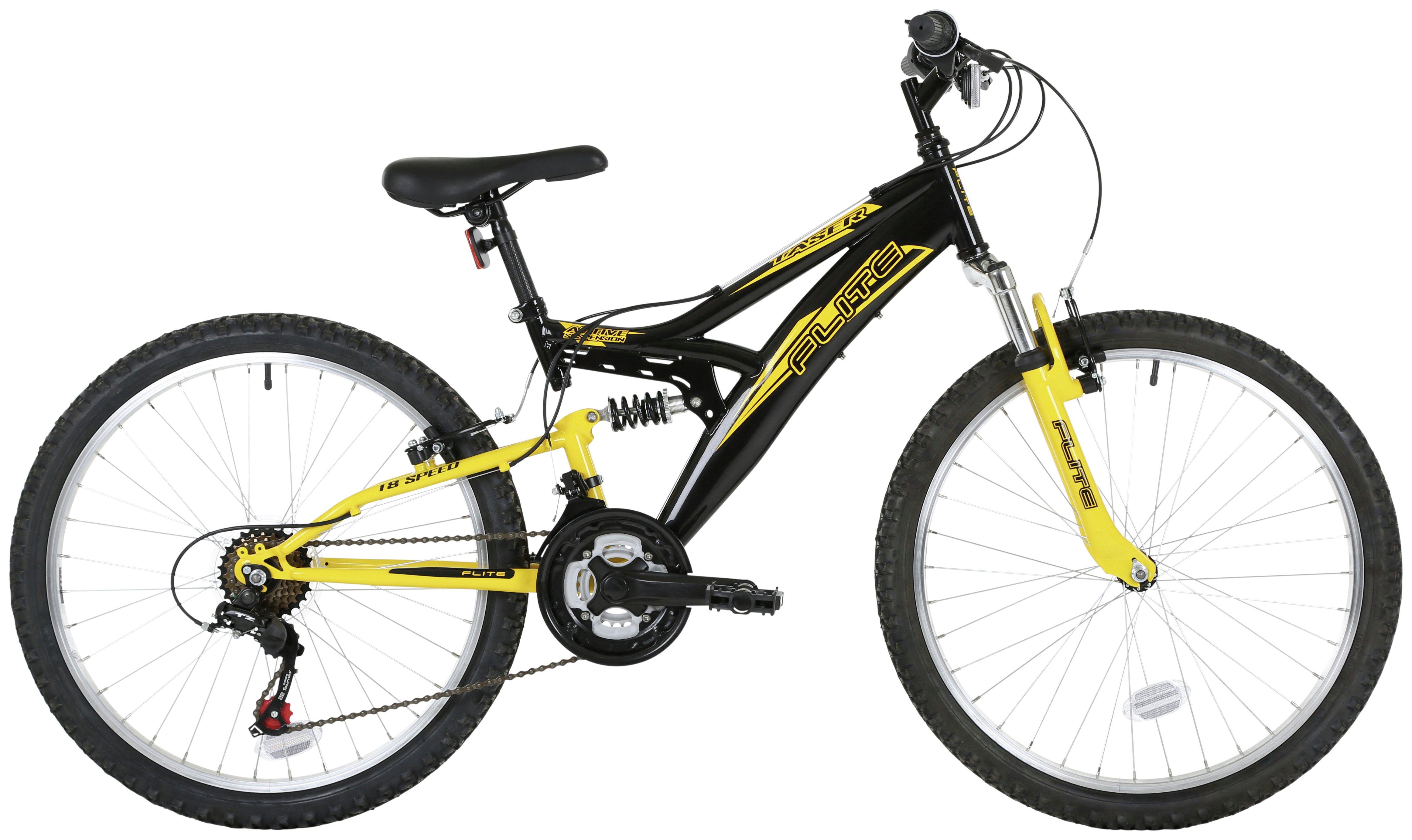 Flite Taser 14 Inch Dual Suspension Bike - Boys