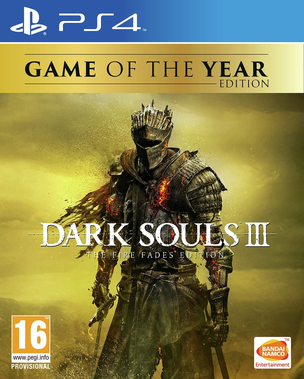 Dark Souls III: The Fire Fades Game of the Year PS4 Game.