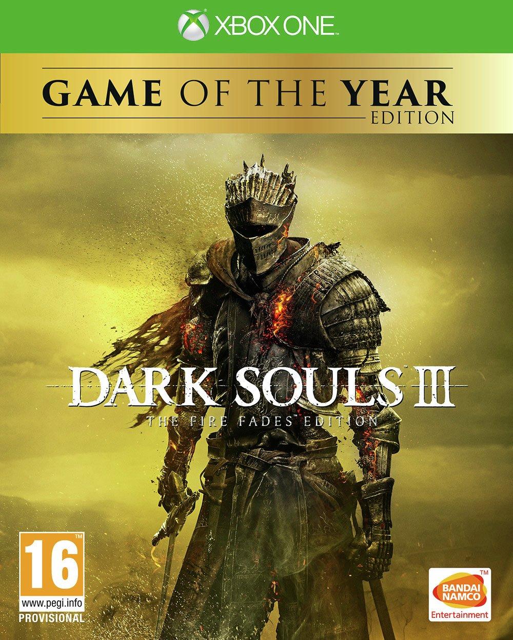 Dark Souls 3: Fire Fades GoTY Edition Xbox One Game.