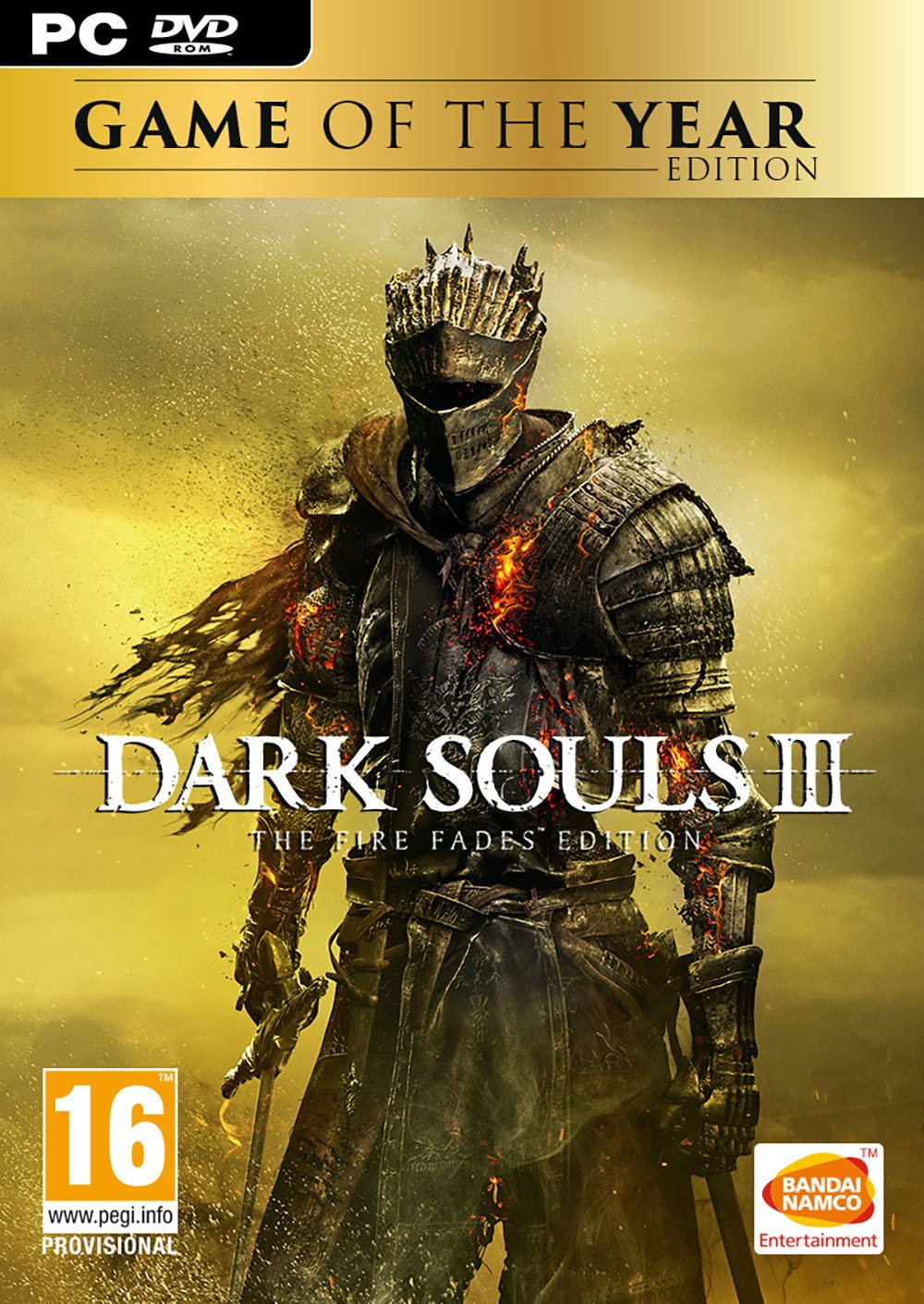 Dark Souls 3: Fire Fades GoTY Edition PC Game.