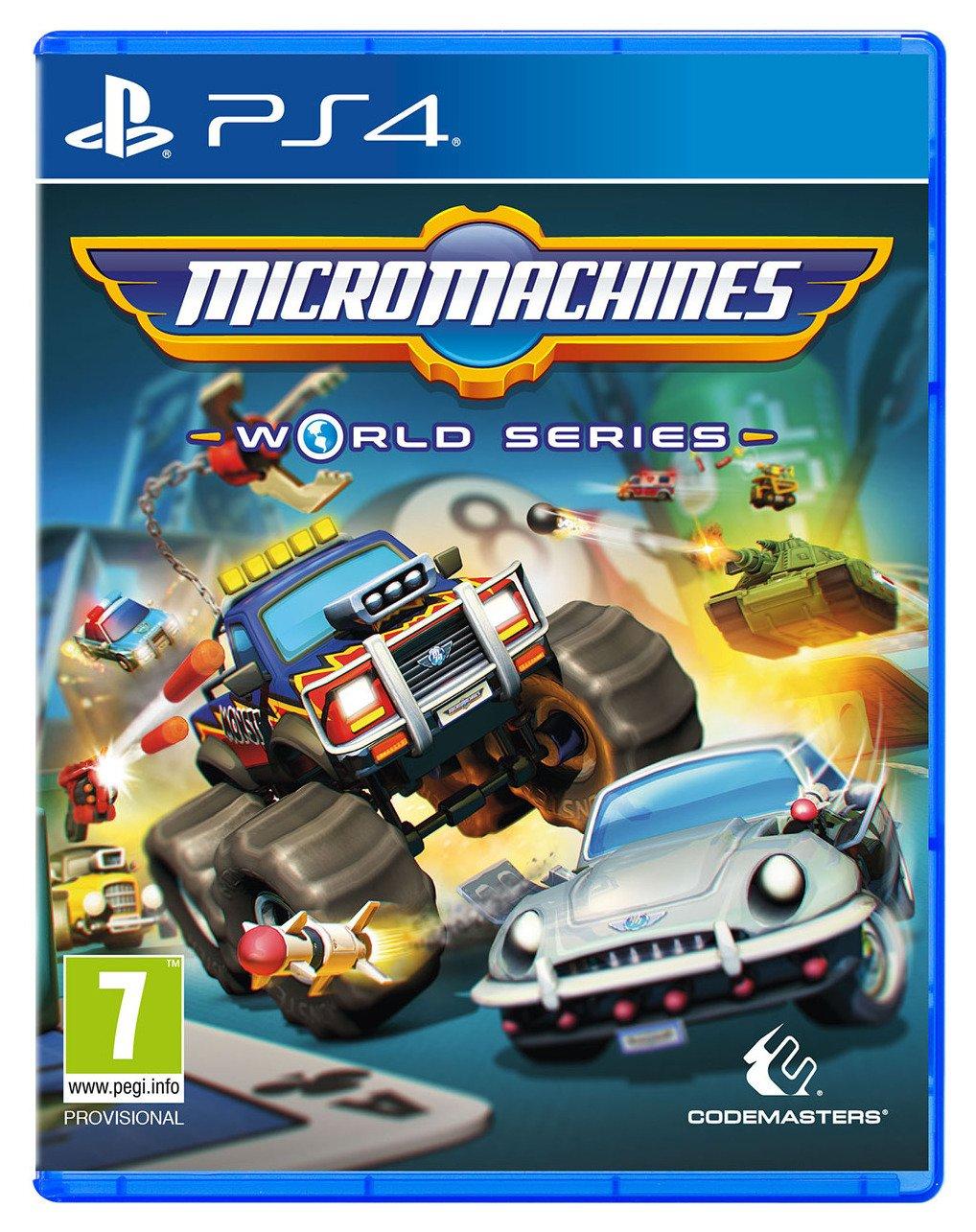 Micro Machines: World Series PS4 Game.
