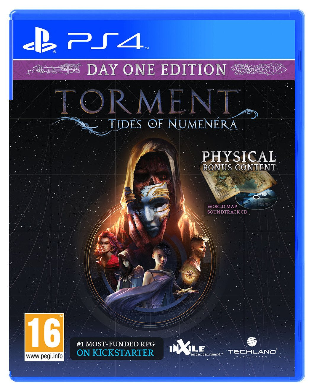 Torment: Tides of Numenera PS4 Game