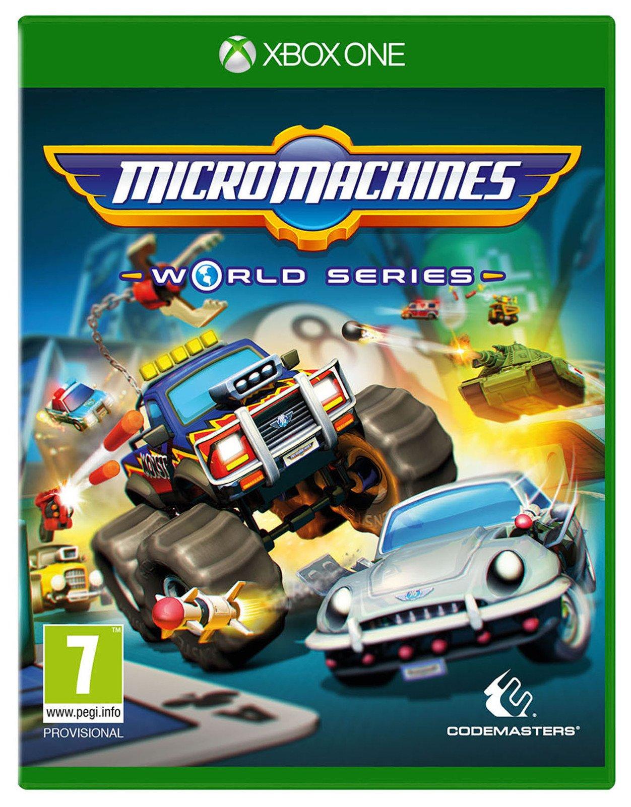 Micro Machines World Series Xbox One Game.