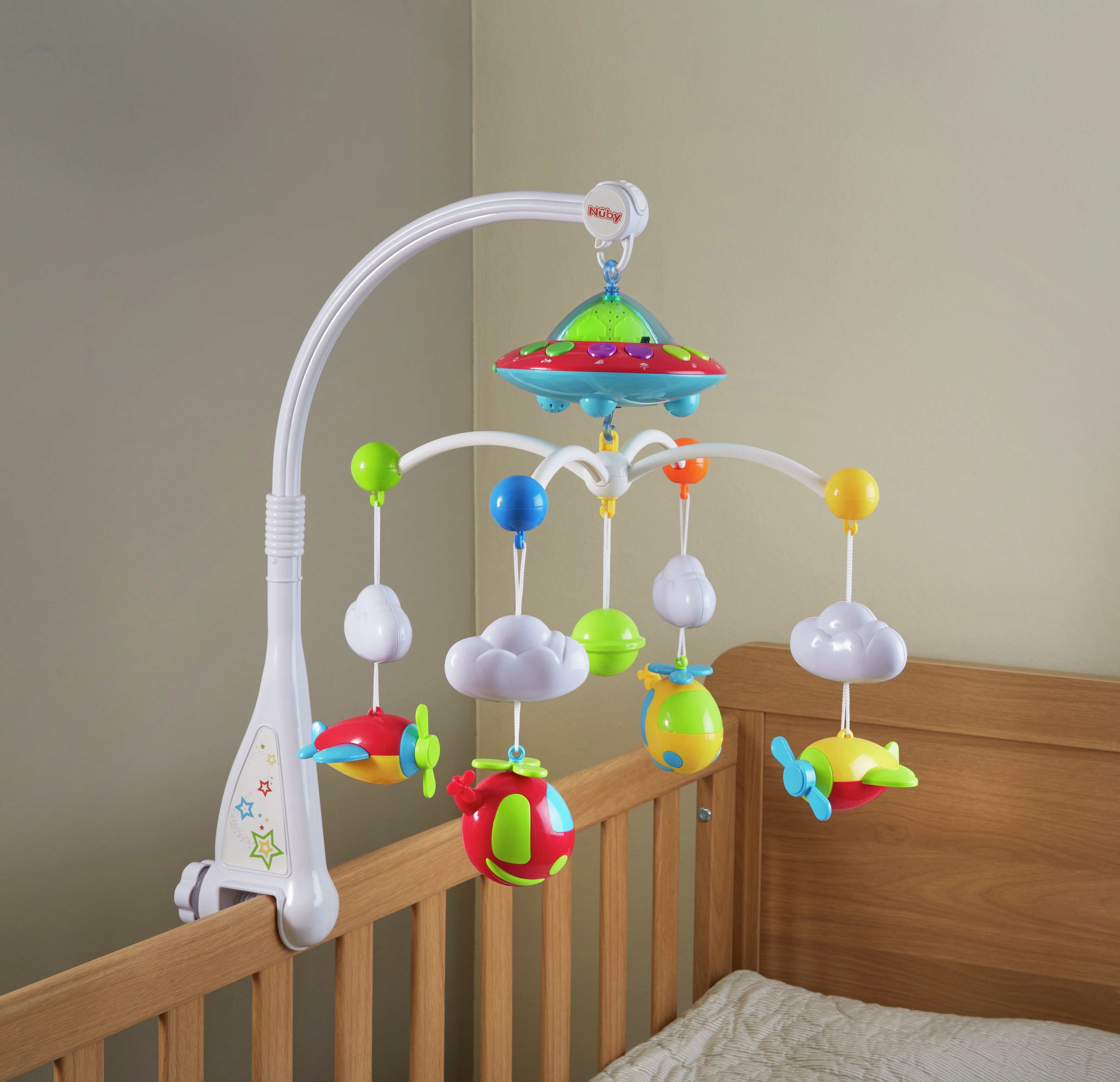 'Nuby's Musical Cot Mobile.