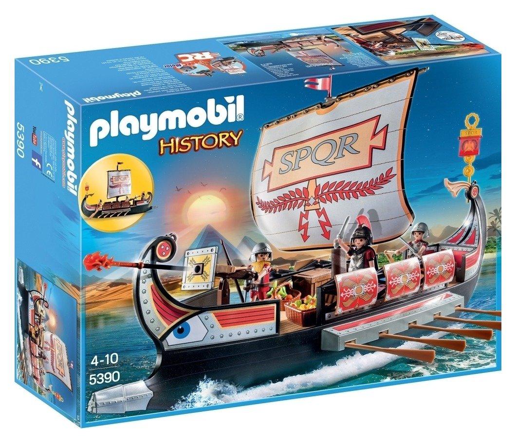 Playmobil 5390 History Roman Warrior's Ship.