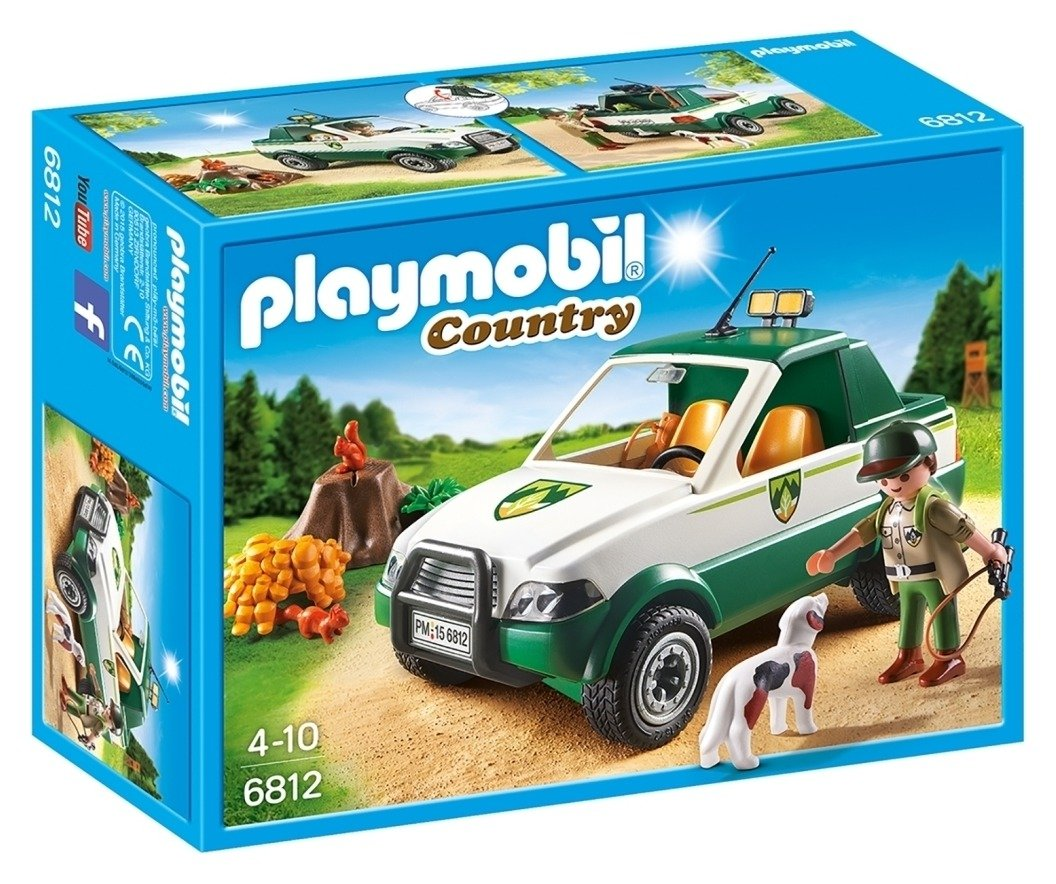 Playmobil 6812 Country Forest Pick Up Truck.