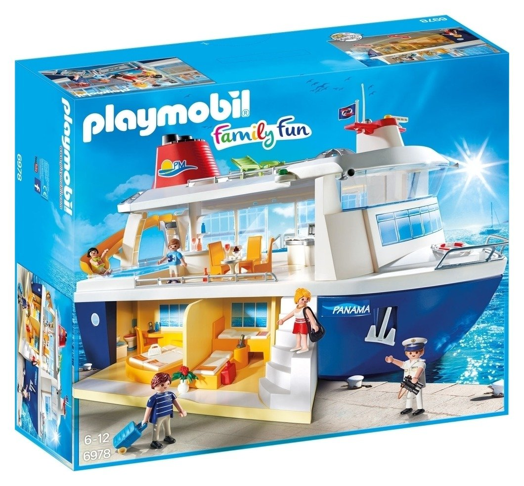 Playmobil 6978 Family Fun Cruise Ship.