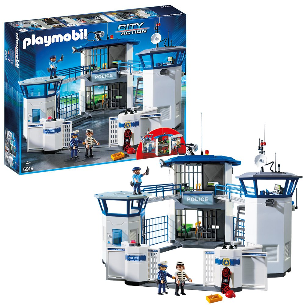 Playmobil 6919 City Action Police Headquarters.