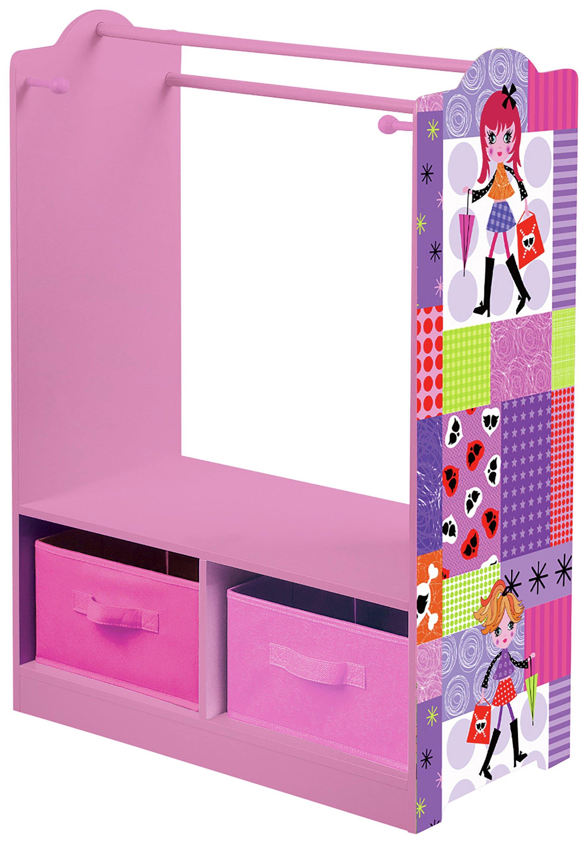 Liberty House Toys Fashion Girl Dress Up With Storage Bins