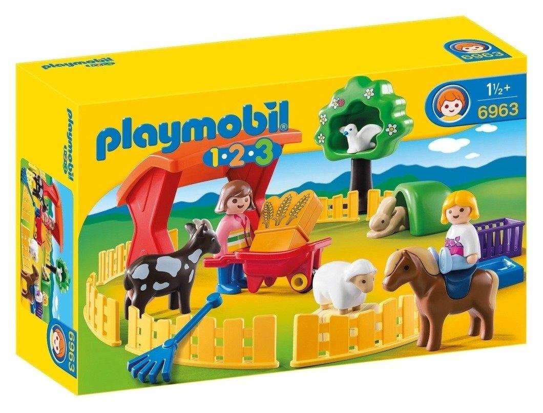Playmobil 6963 123 Petting Zoo