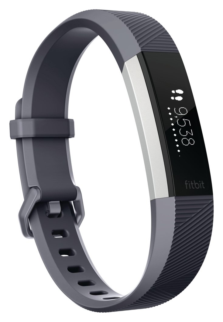 Fitbit Alta HR Fitness Large Wristband - Grey