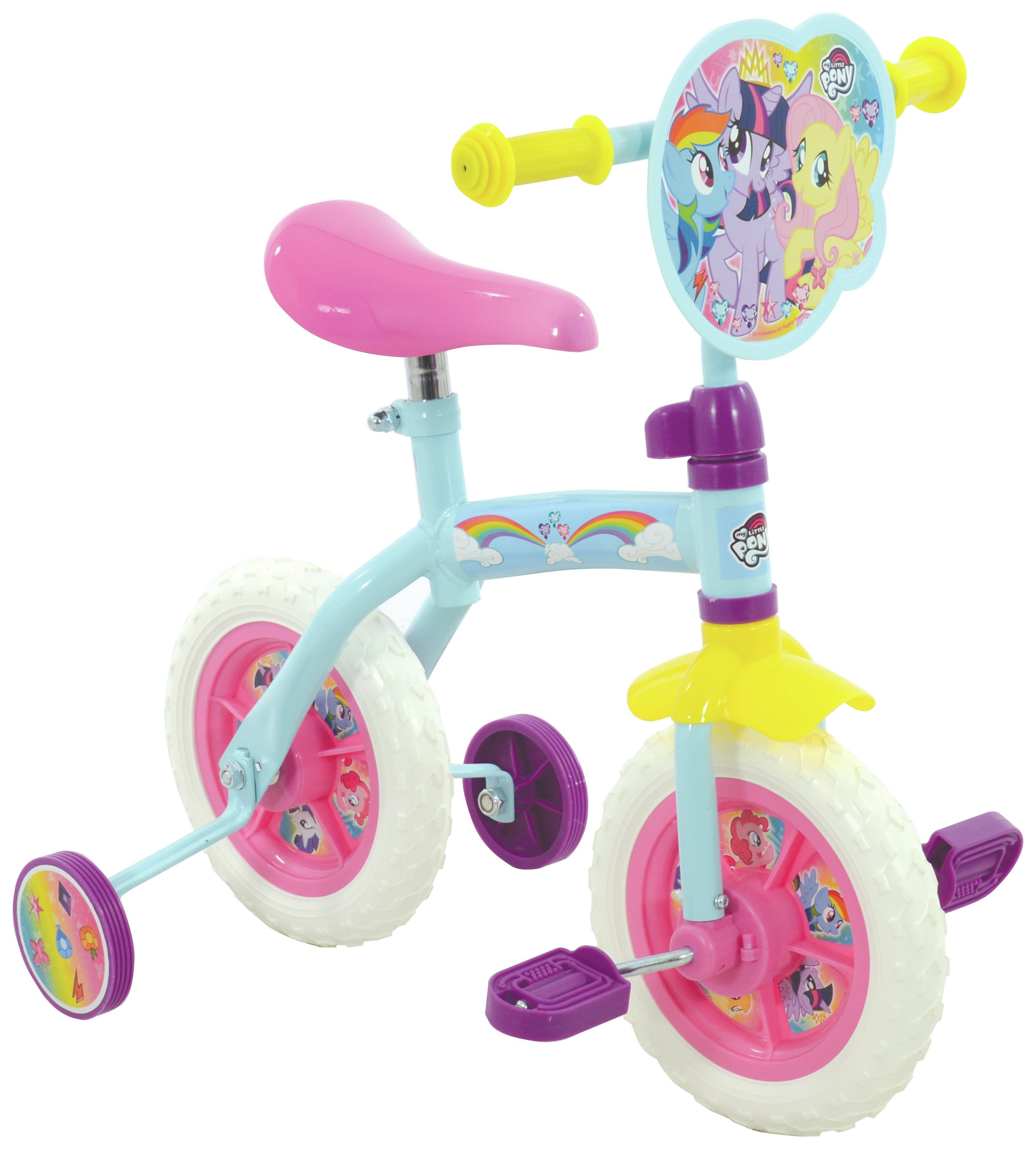 My Little Pony 2 In 1 10 Inch Training Bike.